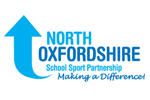 North Oxfordshire School Sport Partnership logo.