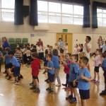 Year 1s are full of belief with dancing feet