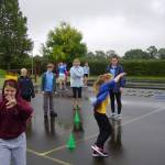RAIN CAN'T STOP PLAY FOR YOUNG LEADERS