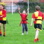 Tag Rugby Coaching in The Cooper Family
