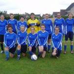 New Shirts for Gosford Girls' Football Team