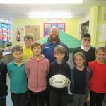 Rugby game at William Morris inspires pupils