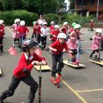 ScootFit at Brookside Primary