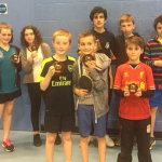 Easter Table Tennis Tournament a Success!