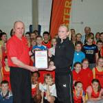 Clubmark Award for Bicester Athletics Club