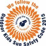 Outdoor Kids Sun Safety Code