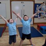 Gymnastics in West Kidlington School