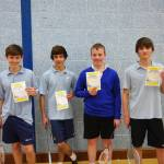 Record Numbers for KS3 Badminton