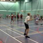 Record 19 teams attend KS3 Badminton Finals
