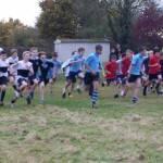 Runners descend on The Warriner School