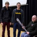 International Power Lifter Visits Cooper