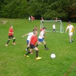 Warriner Year 3-4 football at the double