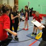 Bicester Family Sportshall Athletics 2017