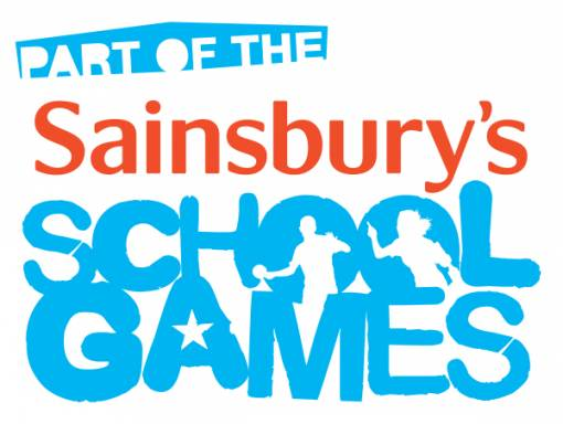 Sainsbury's School Games wordmark - PART OF THE -