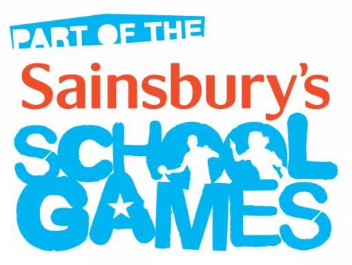 Sainsbury's School Games wordmark - PART OF THE -