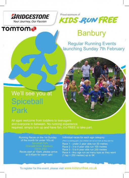 Kids Run Free - Banbury