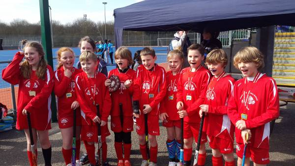 Finmere Y5/6 Hockey Gold Medal