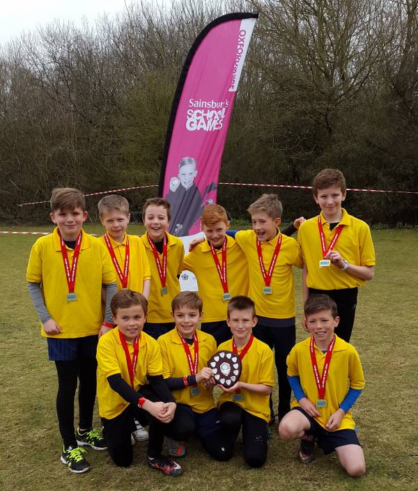 Langford Village U11 Boys Cross Country Gold Medal