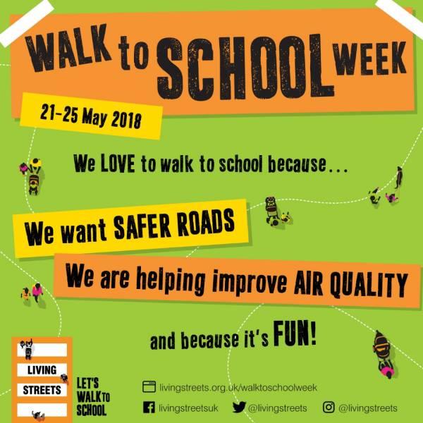 Walk to School Week 2018!