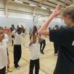 Grooving and Moving at Banbury Academy