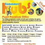 Pupil Premium Holiday Hub Offer